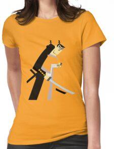 samurai jack Womens Fitted T-Shirt