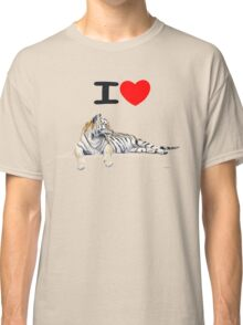 I love Tigers Classic T-Shirt