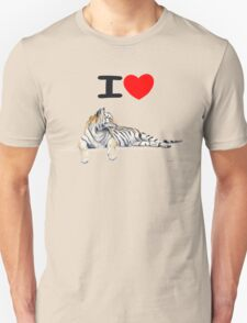 I love Tigers Unisex T-Shirt