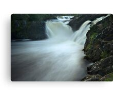 Erupting Water in a Whirlpool Canvas Print