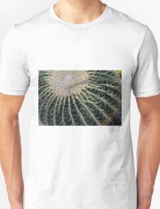 Detail of round cactus Unisex T-Shirt