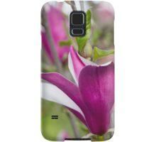 flowering magnolia Samsung Galaxy Case/Skin