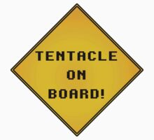 Tentacle on Board! Kids Clothes