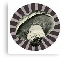 Vintage Mushroom Canvas Print
