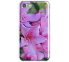 Purple delicate flowers iPhone Case/Skin
