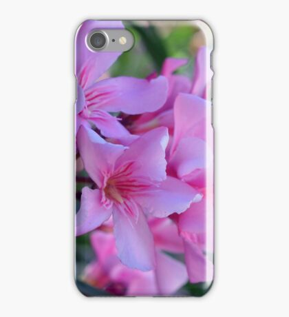 Purple delicate flowers iPhone Case/Skin