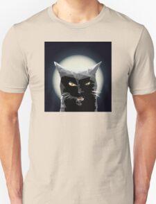 Black kitty Unisex T-Shirt