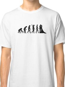 Evolution Wedding couple Classic T-Shirt