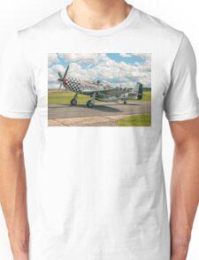 "CAC Mustang 23 A68-192 G-HAEC ""Big Beautiful Doll"" Unisex T-Shirt"