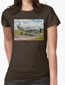 """CAC Mustang 23 A68-192 G-HAEC """"Big Beautiful Doll"""" Womens Fitted T-Shirt"""