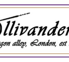 Ollivanders Wand Shop Sticker