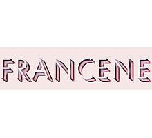 Francene Photographic Print