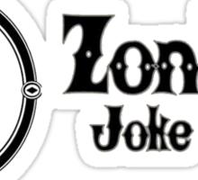 Zonkos Joke Shop Sticker