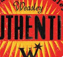 weasley & weasley authentic clothing Sticker