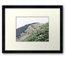 Unique Mountain II Framed Print