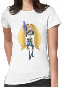 Warrior Moon Womens Fitted T-Shirt