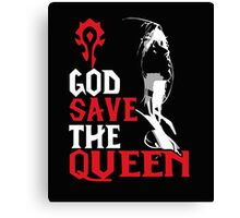 God save the Queen Canvas Print
