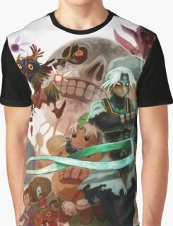 Full World Zelda Graphic T-Shirt