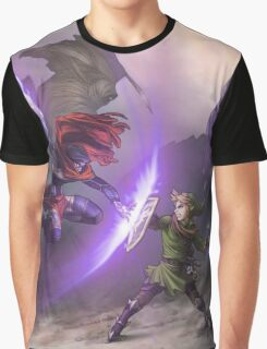 Dark Battle Graphic T-Shirt