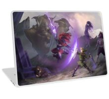 Dark Battle Laptop Skin