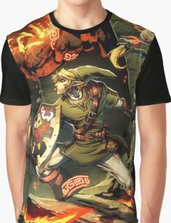 Fire Battle Graphic T-Shirt