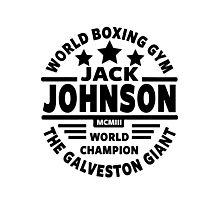 Boxing, Jack Johnson Photographic Print