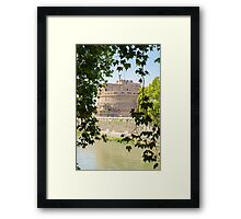 Rome - Mausoleum of Hadrian  Framed Print
