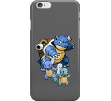 Squirtle Evolutions iPhone Case/Skin