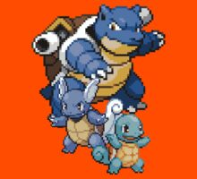 Squirtle Evolutions Kids Clothes