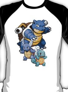 Squirtle Evolutions T-Shirt