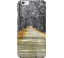 The Yellow Dirt Road iPhone Case/Skin