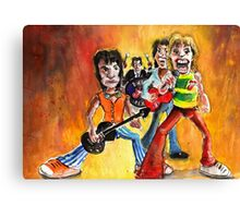The Rolling Stones In Spain Canvas Print