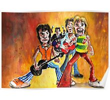 The Rolling Stones In Spain Poster