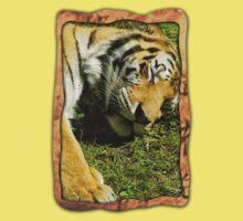 Sleeping Tiger One Piece - Short Sleeve