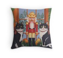 """Nutcracker Sweeties"" Throw Pillow"