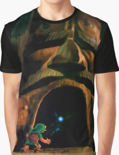 Zelda Big Tree Graphic T-Shirt