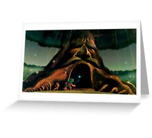 Zelda Big Tree Greeting Card