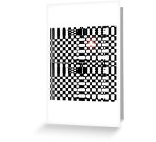 Bullet Time Greeting Card