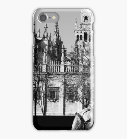 An ancient view - Seville Giralda  iPhone Case/Skin