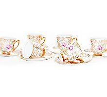 Vintage coffee cups by missmoneypenny