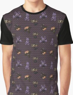 Spooky Pokemon Toss Graphic T-Shirt