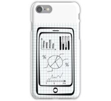 Doodle hand drawn smart phone iPhone Case/Skin