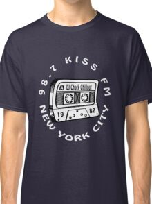 Chuck Chillout 98.7 Kiss FM old school hip hop [wht] Classic T-Shirt