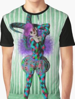 Jester woman Graphic T-Shirt