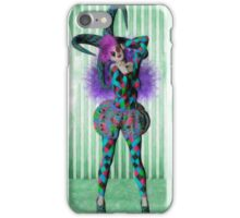 Jester woman iPhone Case/Skin