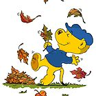Ferald Dancing Amongst The Autumn Leaves by Keith Williams