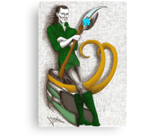 Good to be Bad - Loki (colour version) Canvas Print