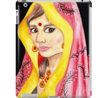 Bengali Princess Portrait iPad Case/Skin
