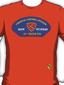 Rave Veteran - Chemical Control Division T-Shirt