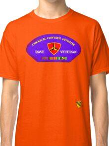 Rave Veteran - Chemical Control Division Classic T-Shirt